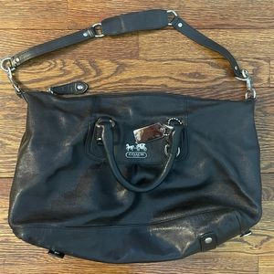 Coach Black Leather Madison Sabrina Convertible